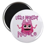 Little Monster Nicole Magnet