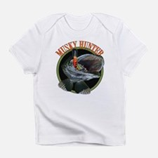 Musky hunter 8 Infant T-Shirt