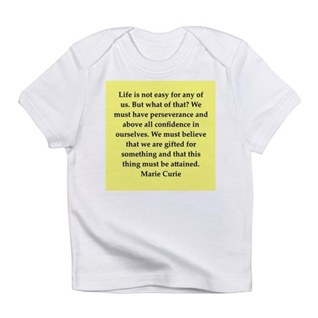 pierre and marie currie quote Infant T-Shirt