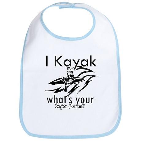 I kayak what's your superpower? Bib