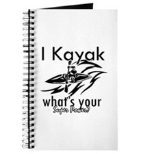 I kayak what's your superpower? Journal