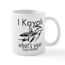 I kayak what's your superpower? Mug