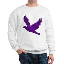 """Purple Dove"" Sweatshirt"