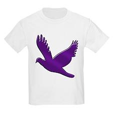 """Purple Dove"" Kids T-Shirt"