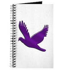 """Purple Dove"" Journal"