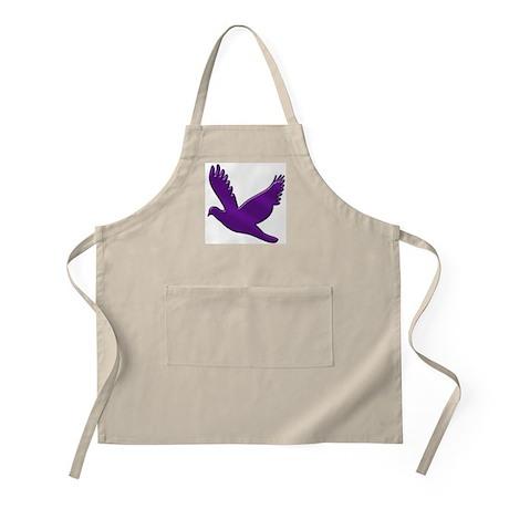 """""""Purple Dove"""" BBQ Apron"""