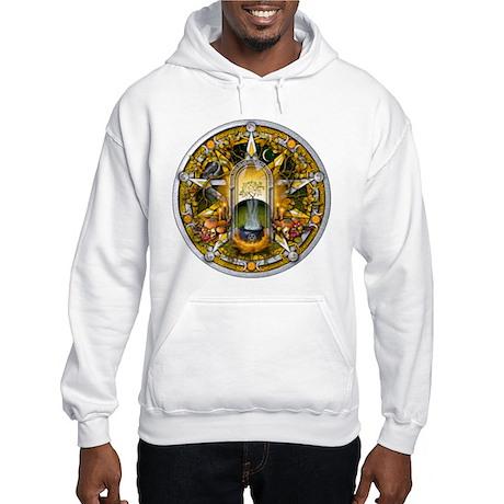 Samhain Pentacle Hooded Sweatshirt