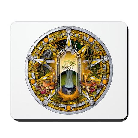 Samhain Pentacle Mousepad