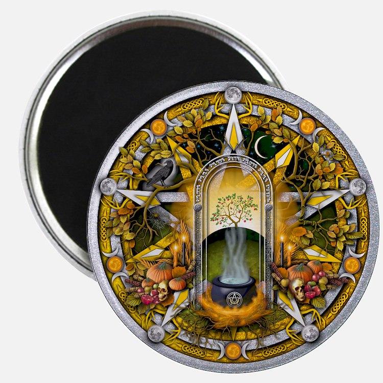 Samhain Pentacle Magnet