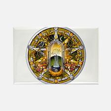 Samhain Pentacle Rectangle Magnet (10 pack)