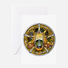 Samhain Pentacle Greeting Card