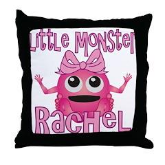 Little Monster Rachel Throw Pillow