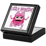 Little Monster Riley Keepsake Box