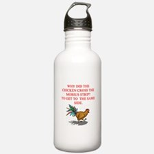 funny mobius strip humor Water Bottle