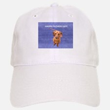 Fathers Day Dog Baseball Baseball Cap