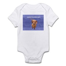 Fathers Day Dog Infant Creeper