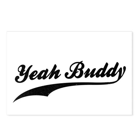 Yeah Buddy! Postcards (Package of 8)