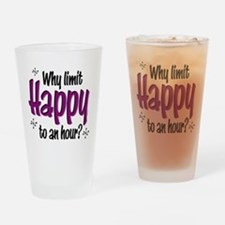 Limit Happy Hour? Drinking Glass