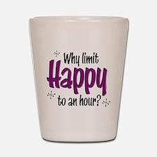 Limit Happy Hour? Shot Glass