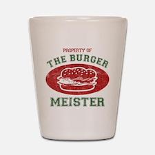 Property of Burger Meister Shot Glass