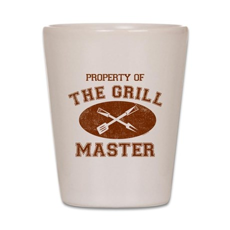 Property of Grill Master Shot Glass