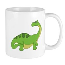 Cartoon Apatosaurus Mug