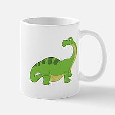 Cartoon Apatosaurus Mug