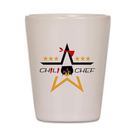 All-Star Chili Chef Shot Glass