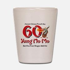 Yung No Mo 60th Birthday Shot Glass
