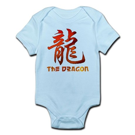 Chinese Astrology Dragon Sign Infant Bodysuit