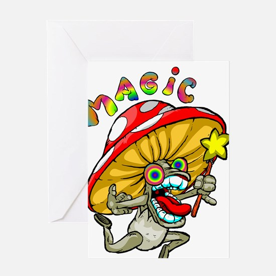 Cool Psychedelic Greeting Card