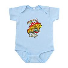 Cute Mushroom Infant Bodysuit
