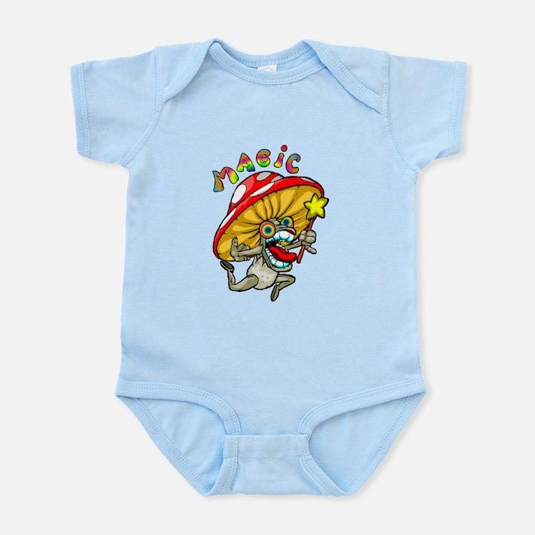Cute Magic mushrooms Infant Bodysuit