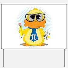 Math Teacher Duck Yard Sign