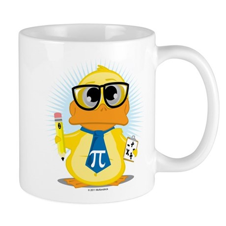 Math Teacher Duck Mug