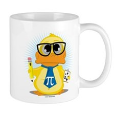 Math Teacher Duck Small Mug