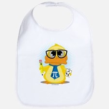 Math Teacher Duck Bib
