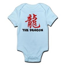 Chinese Zodiac Sign Dragon Infant Bodysuit