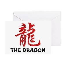 Chinese Zodiac Sign Dragon Greeting Card