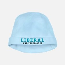Proud Liberal baby hat