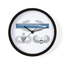 CIB Airborne Senior Air Assault Wall Clock