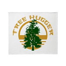Tree Hugger Throw Blanket