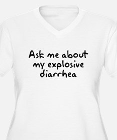 Ask Me About My Explosive Dia T-Shirt
