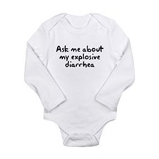 Ask Me About My Explosive Dia Long Sleeve Infant B