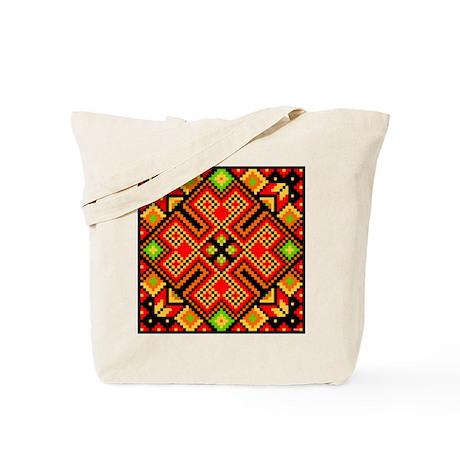 Folk Design 4 Tote Bag