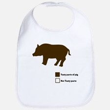 Tasty Parts of the Pig Bib