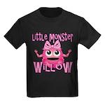 Little Monster Willow Kids Dark T-Shirt