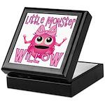 Little Monster Willow Keepsake Box