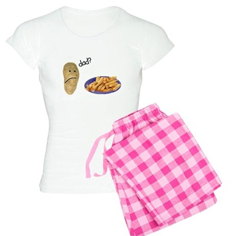 Potato French Fries Dad Women's Light Pajamas