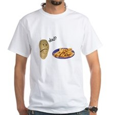Potato French Fries Dad Shirt